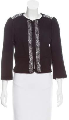 Tibi Embellished Wool Jacket
