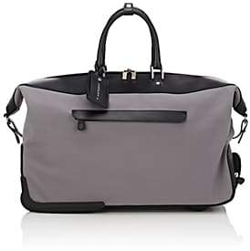 Anthony Logistics For Men T. Men's Carry-On Rolling Duffel Bag - Gray