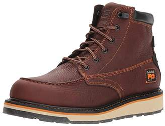 Timberland Men's Gridworks Moc Soft Toe Waterproof Industrial Boot