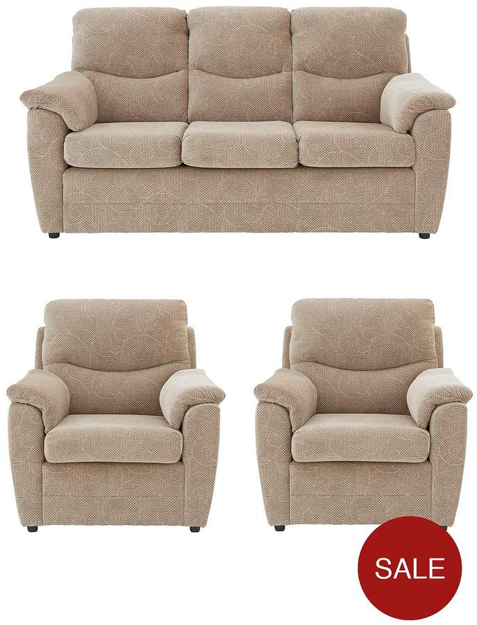 Dalton 3 Seater + 2 Chairs