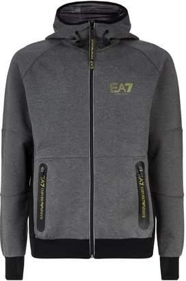 Giorgio Armani Ea7 Technical Logo Hoodie