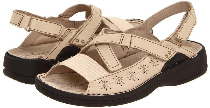 P.W. Minor Crystal (Linen Leather) - Footwear