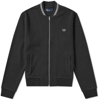 1e7be583a Fred Perry Authentic Bomber Neck Zip Sweat