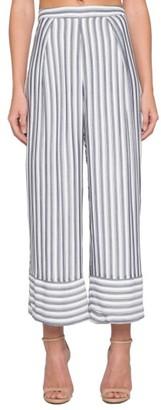 Women's Willow & Clay Stripe Wide Leg Crop Pants $89 thestylecure.com