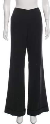 Ralph Lauren Mid-Rise Wide Pants Black Mid-Rise Wide Pants