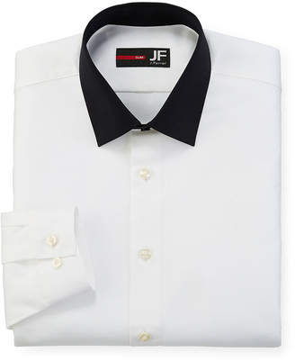 Jf J.Ferrar JF Easy Care Dress Shirt - Slim Fit