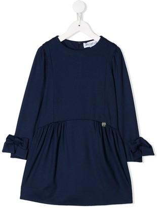 Simonetta round neck dress