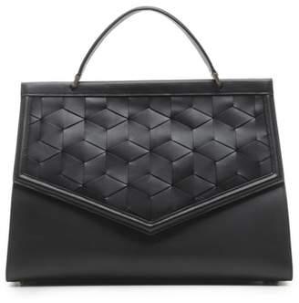 WELDEN Wayfare Calfskin Leather Top Handle Satchel