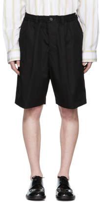 Marni Black Drawstring Shorts