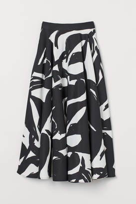 H&M Circle Skirt - Black