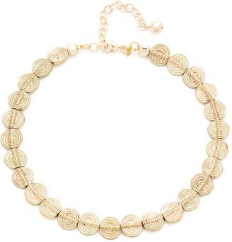 Vanessa Mooney The Di Rosa Choker Necklace $63 thestylecure.com