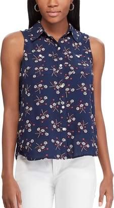 Chaps Women's Relaxed Sleeveless Shirt