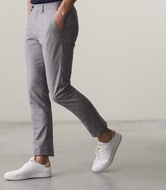 Reiss Den Nep Textured Trouser