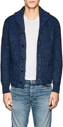 Rrl Men's Cotton-Linen Shawl-Collar Cardigan