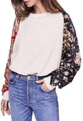 Free People Vintage Affair Pullover