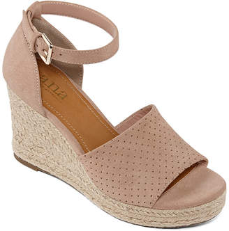 A.N.A Womens Brenda Wedge Sandals
