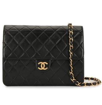 Chanel Pre-Owned diamond quilted chain shoulder bag