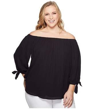 KARI LYN Plus Size Gianna Off Shoulder Blouse