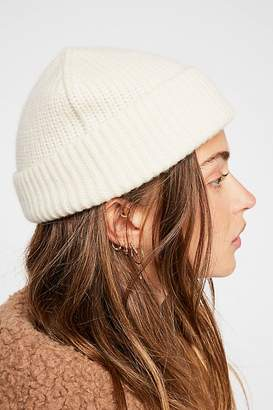 Carolina Amato Cashmere Fisherman Beanie