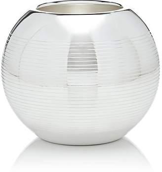 Puiforcat Pétanque Silver-Plated Medium Vase