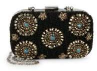 Sam Edelman Floral Bead Embellished Convertible Clutch