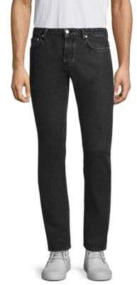 Officine Generale Kurt Five-Pocket Cotton Jeans