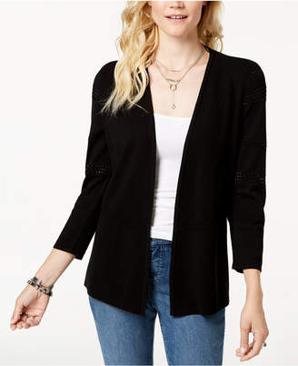 Charter Club Pointelle Cardigan, Created for Macy's