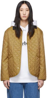 Burberry Beige Vintage Dranefeld Jacket
