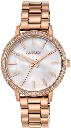 Armitron Womens Rose Goldtone Bracelet Watch-75/5500mprg