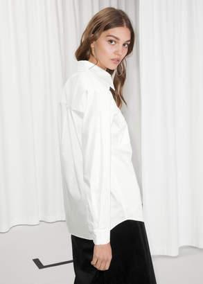Structured Cotton Shirt