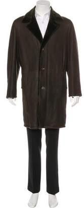Kiton Shearling Coat