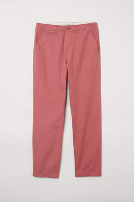 H&M Cotton Chinos - Red
