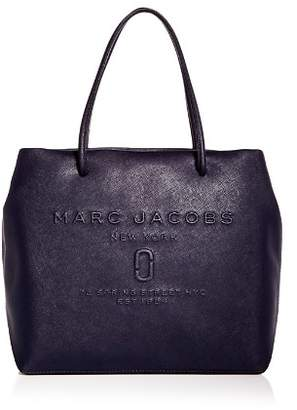 Marc Jacobs Logo East/West Leather Tote