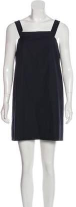Balenciaga 2017 Virgin Wool Off-the-Shoulder Tunic w/ Tags