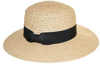 Riviera Straw Floppy Hat