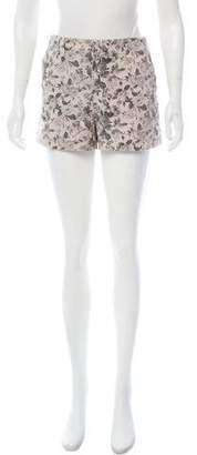J Brand Floral High-Rise Shorts