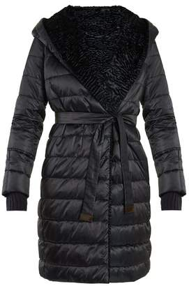 Max Mara S Noveast Reversible Coat - Womens - Navy