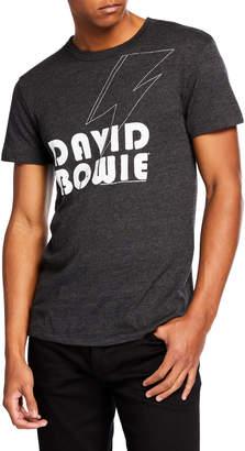 Chaser Men's Triblend David Bowie Vintage Bowie T-Shirt