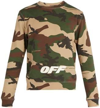Off-White Camouflage-print crew-neck sweatshirt