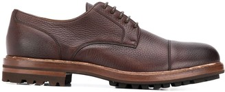 Brunello Cucinelli thick sole derby shoes