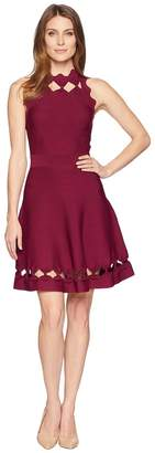 Ted Baker Cherina Bow Detail Knitted Skater Women's Dress
