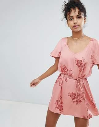 Billabong Floral Beach Dress