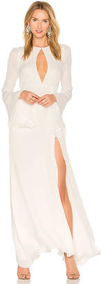 STONE COLD FOX Azzurra Gown in White $550 thestylecure.com