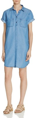 Barbour Fins Chambray Dress $169 thestylecure.com