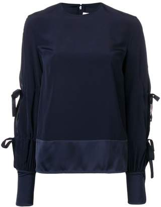 Victoria Beckham Victoria tied-sleeves blouse