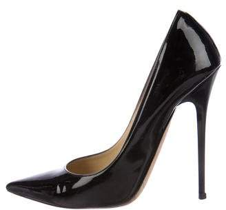 Jimmy Choo Anouk Pointed-Toe Pumps