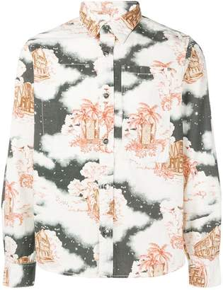 Vyner Articles Hawaii print shirt