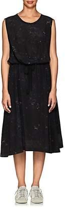 Pas De Calais Women's Silk Georgette Midi-Dress