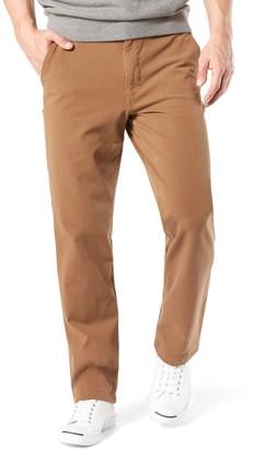 Dockers Men's Smart 360 FLEX Straight-Fit Downtime Khaki Pants D2
