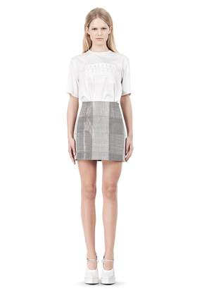 Alexander Wang Miniskirt With Dart Detail